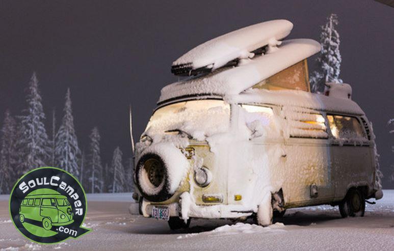 Cuidados para que tu camper supere el invierno