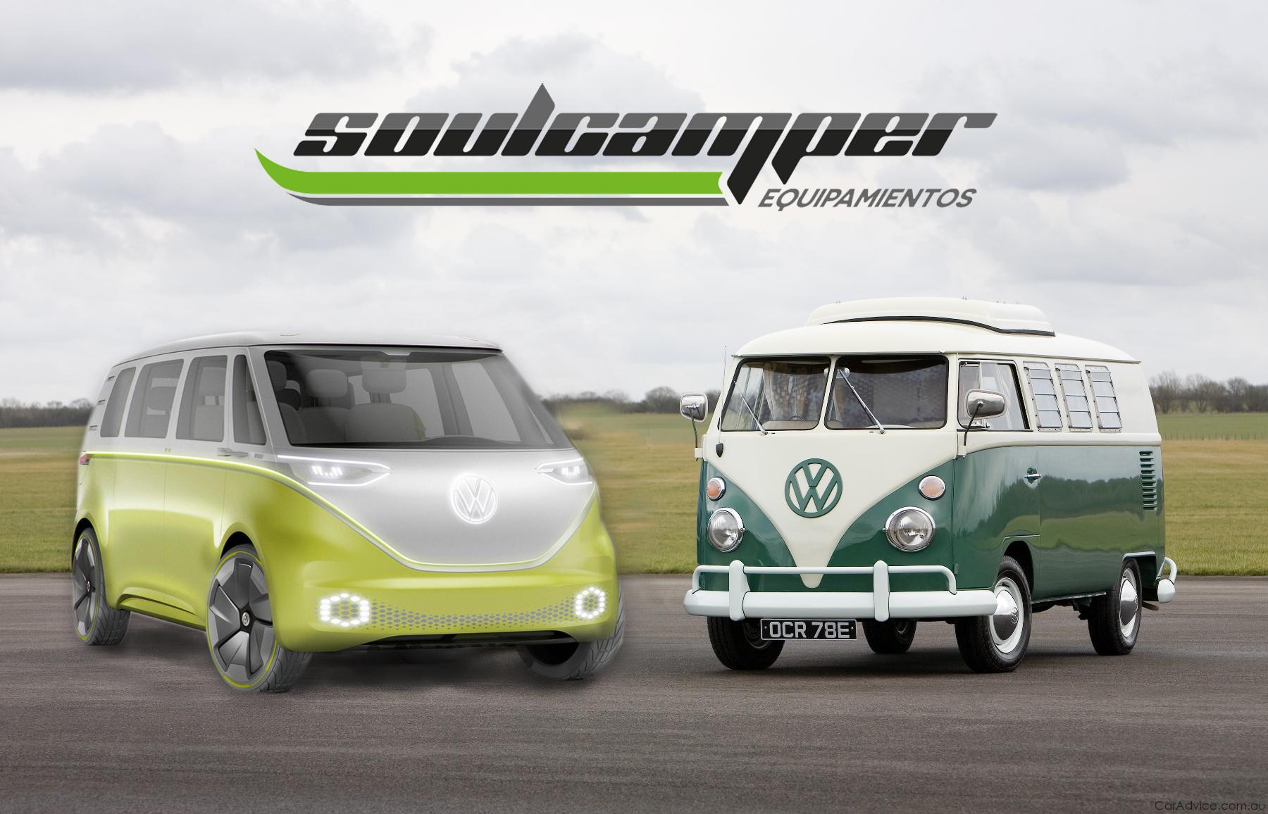 Modelo eléctrico I.D. BUZZ, Volkswagen.