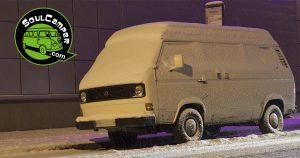 Prepara tu furgoneta camper para el invierno