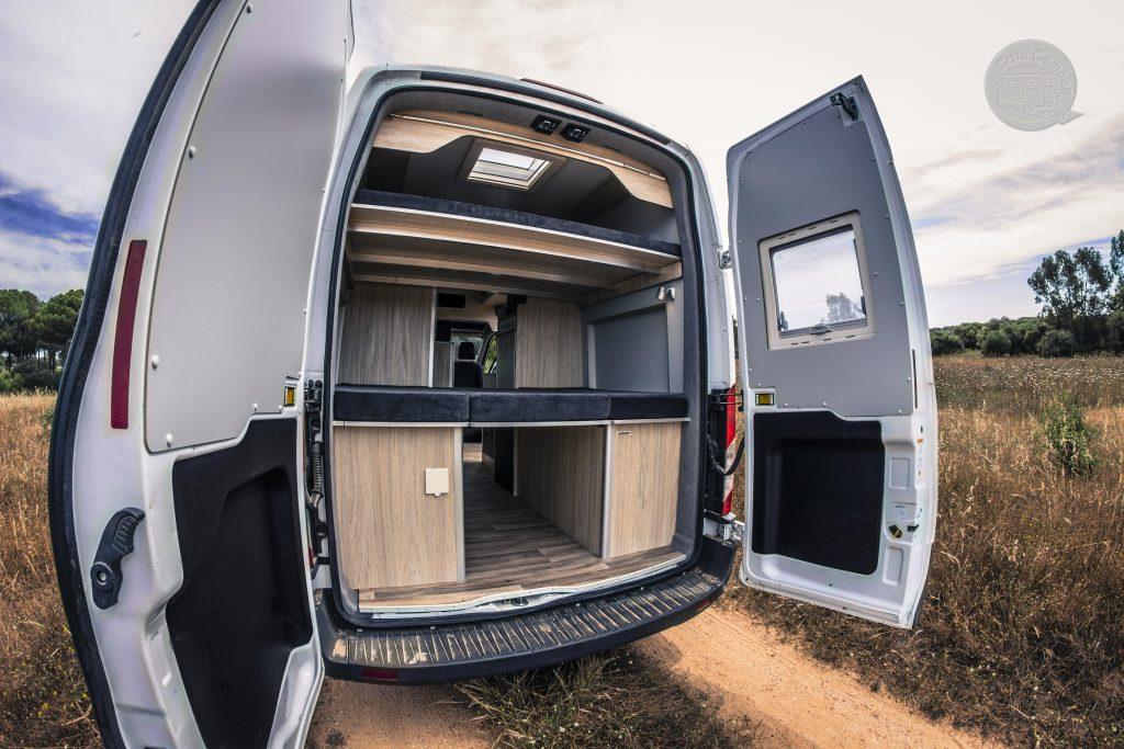 camperizacion furgoneta mediana