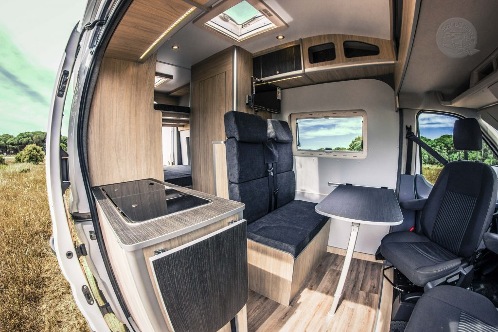 furgoneta camperizada ford transit