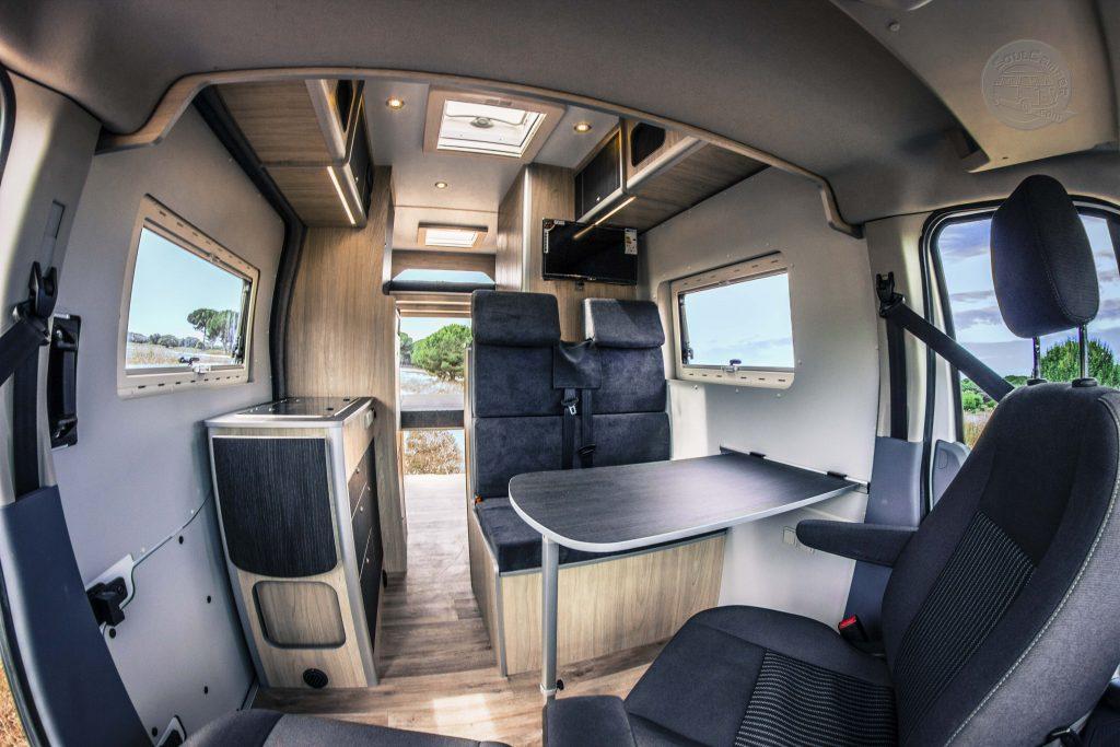 camperizacion ford transit