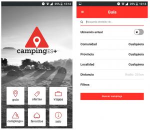 camping app