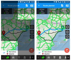 distancia gps caravana app