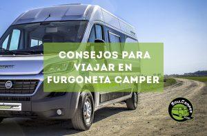 Consejos para viajar en furgoneta camper