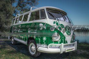 Restauración Volkswagen T1 Kombi año 70