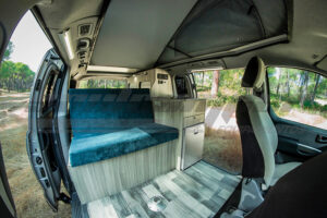 Camperización Hyundai h1 Corta