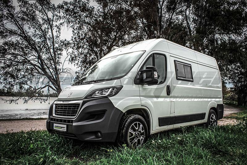 Camperización de furgoneta Peugeot Boxer L2H2